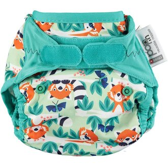Pop-in Reusable Nappy Cover - Red Panda