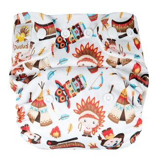 Doodush Pocket Nappy - Indian Praire (Stay Dry)