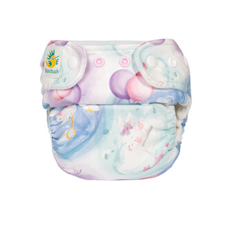 Doodush Pocket Nappy - Candy Bunnies (Stay Dry)